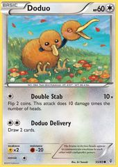 Doduo - 55/83 - Common on Channel Fireball