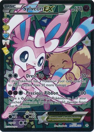 Sylveon-EX - RC32/32 - Full Art Ultra Rare