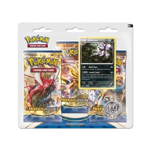 Pokemon XY - Breakpoint 3-Booster Blister Pack, Umbreon by Pokémon