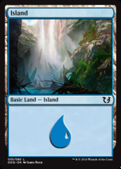 Island (035) on Channel Fireball