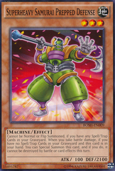 Superheavy Samurai Prepped Defense - BOSH-EN009 - Common - Unlimited Edition