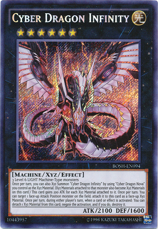 Cyber Dragon Infinity - BOSH-EN094 - Secret Rare - Unlimited Edition