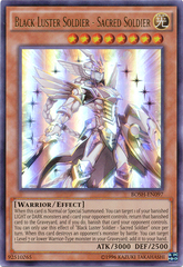Black Luster Soldier - Sacred Soldier - BOSH-EN097 - Ultra Rare - Unlimited Edition