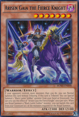 Arisen Gaia the Fierce Knight - BOSH-EN098 - Rare - Unlimited Edition
