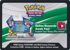 Pikachu-EX Collector's Box Code Card