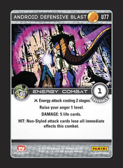 Android Defensive Blast - U077 - Foil