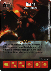 Balor - Greater Fiend (Die & Card Combo)
