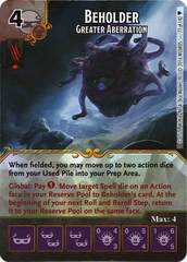 Beholder - Greater Aberration (Die & Card Combo)