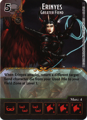 Erinyes - Greater Fiend (Die & Card Combo)