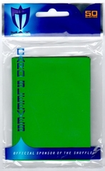 Alpha Gloss Sleeves - 50 count  - Green