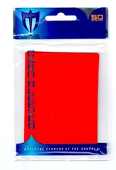 Alpha Gloss Sleeves - 50 count  - Red