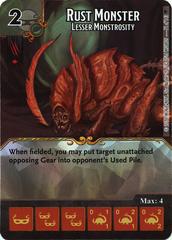 Rust Monster - Lesser Monstrosity (Die & Card Combo)