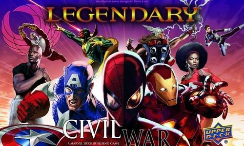 Legendary: A Marvel DBG - Civil War Expansion