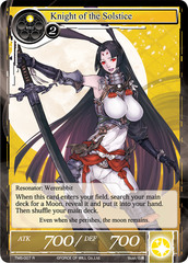 Knight of the Solstice - TMS-007 - R - Foil