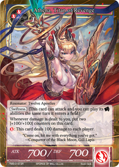 Athena, Titan of Revenge - TMS-018 - SR on Channel Fireball