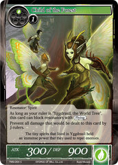 Child of the Forest - TMS-054 - C - Foil on Channel Fireball
