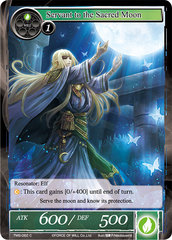 Servant to the Sacred Moon - TMS-062 - C - Foil