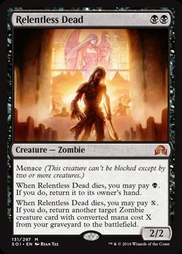 Relentless Dead - Foil