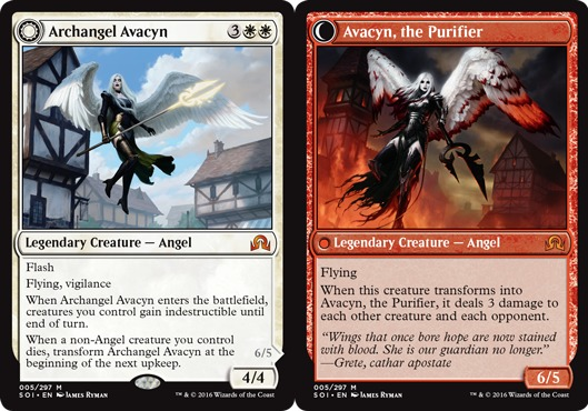 Archangel Avacyn // Avacyn, the Purifier