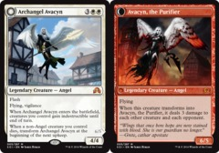 Archangel Avacyn // Avacyn, the Purifier on Channel Fireball