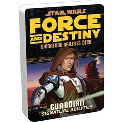 Star Wars:  Force and Destiny - Signature Abilities Deck - Guardian