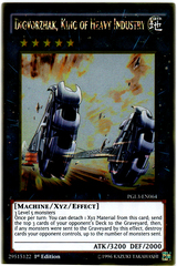 Digvorzhak, King of Heavy Industry - PGL3-EN064 - Gold Rare - 1st Edition