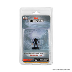 D&D Attack Wing Wave 9 - Human Barbarian (Fire Cult) Expansion Pack