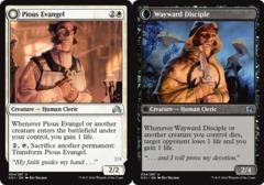 Pious Evangel // Wayward Disciple  - Foil