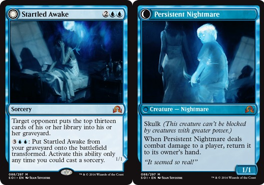 Startled Awake // Persistent Nightmare