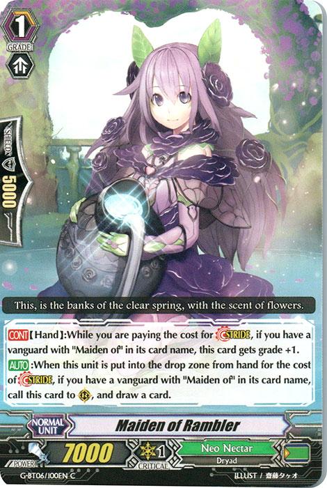 Maiden of Rambler - G-BT06/100EN - C