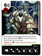 Bane - Venom Enhanced (Die & Card Combo)