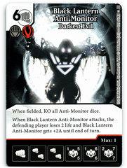 Black Lantern Anti-Monitor - Darkest Evil (Die & Card Combo)