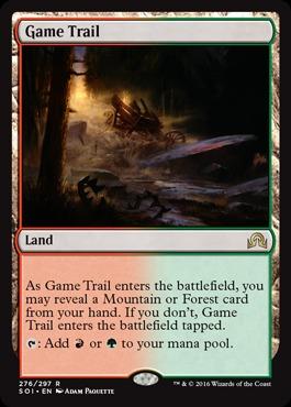 Game Trail - Foil