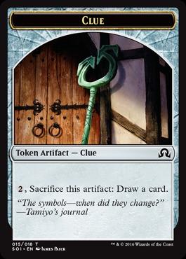 Clue Token #15 (James Paick)