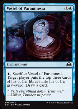 Vessel of Paramnesia
