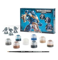 Space Marines + Paint Set ( 60-11 )