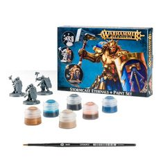6010 Stormcast Eternals + Paint Set