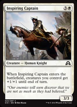 Inspiring Captain - Foil