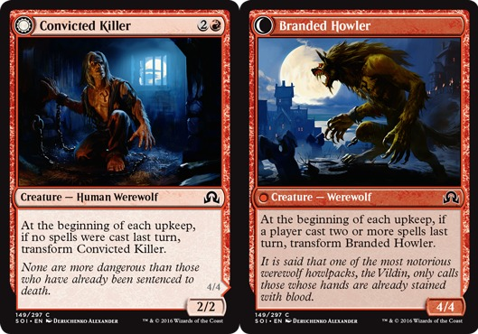 Convicted Killer // Branded Howler - Foil