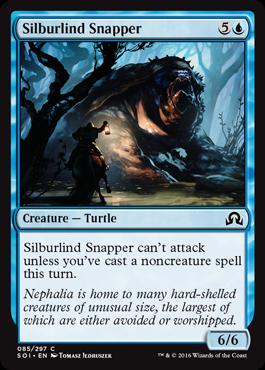 Silburlind Snapper - Foil