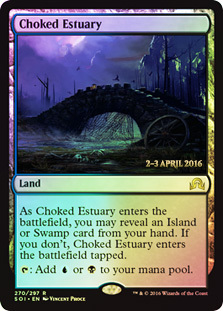 Choked Estuary (Shadows over Innistrad Prerelease)