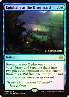 Epiphany at the Drownyard - Foil - Prerelease Promo