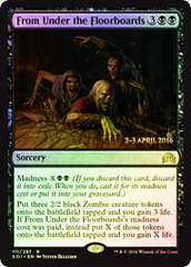 From Under the Floorboards - Shadows over Innistrad Prerelease Promo