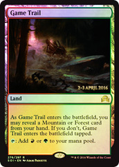 Game Trail - Foil - Prerelease Promo