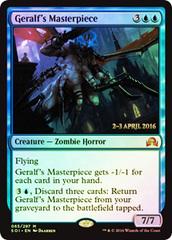Geralf's Masterpiece - Foil - Prerelease Promo
