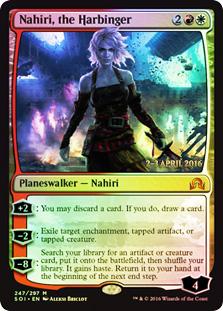Nahiri, the Harbinger - Foil - Prerelease Promo