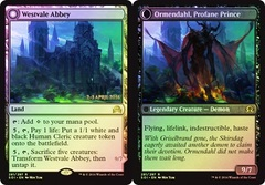 Westvale Abbey // Ormendahl, Profane Prince (Shadows over Innistrad Prerelease) on Channel Fireball