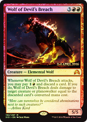 Wolf of Devil's Breach - Foil - Prerelease Promo