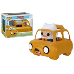 14 Finn with Jake Car