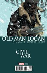 Old Man Logan #4 Civil War Var